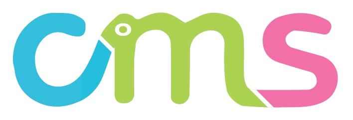 CMSロゴ背景&目透過